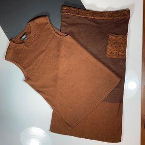 Simply Vera Top/Skirt Sweater Set, Like New!❤️